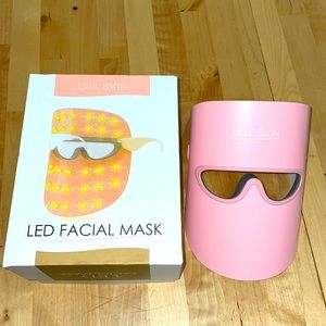 Lux Skin LED Facial Mask Blue Red Yellow Light